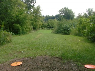 River's Edge at St. Julien's Park, Main course, Hole 15 Short tee pad