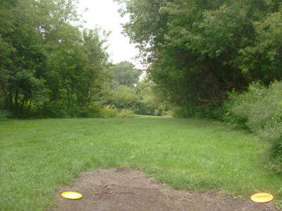 River's Edge at St. Julien's Park, Main course, Hole 13 Short tee pad