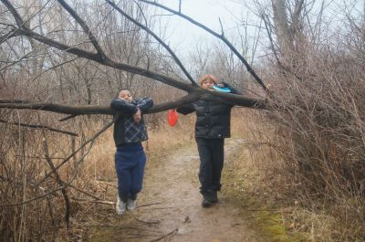 Bronte Creek Provincial Park, Main course, Hole 8