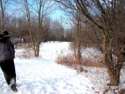 Bronte Creek Provincial Park, Main course, Hole 2 Tee pad