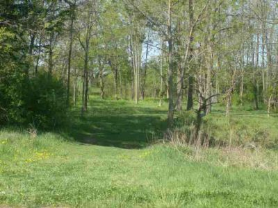 Bronte Creek Provincial Park, Main course, Hole 4 Short tee pad
