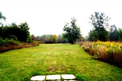 Bronte Creek Provincial Park, Main course, Hole 16 Short tee pad