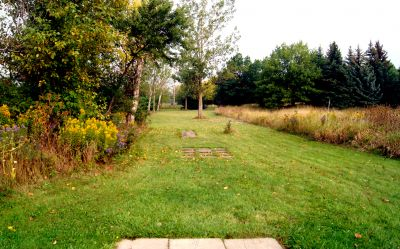 Bronte Creek Provincial Park, Main course, Hole 10 Long tee pad