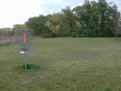 Bronte Creek Provincial Park, Main course, Hole 15 Reverse (back up the fairway)