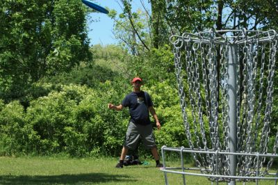 Bronte Creek Provincial Park, Main course, Hole 7 Short approach