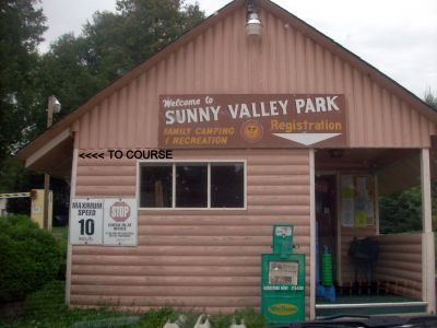 Sunny Valley Campground, Main course, Hole 1