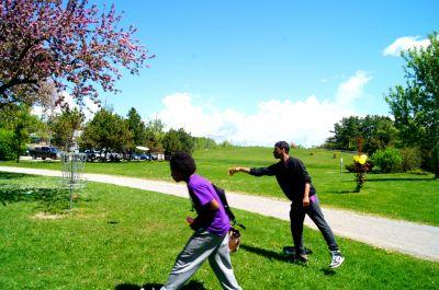Riverview Park, Main course, Hole 5 Putt