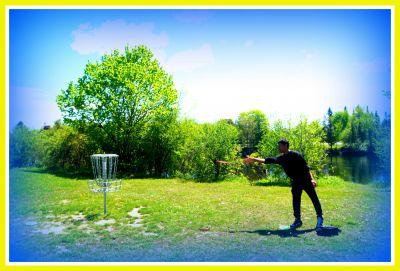 Riverview Park, Main course, Hole 6 Putt