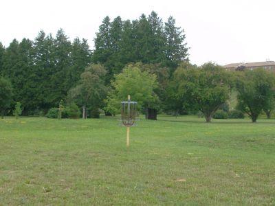 Riverview Park, Main course, Hole 8 Putt