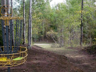 Dreamaker, Main course, Hole 9 Reverse (back up the fairway)
