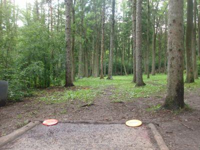 Waterworks, Main course, Hole 5 Tee pad