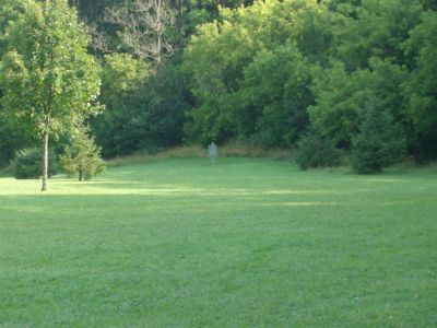 V.A. Barrie Park, Main course, Hole 12 Long tee pad