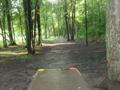 V.A. Barrie Park, Main course, Hole 11 Tee pad