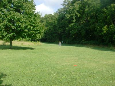 V.A. Barrie Park, Main course, Hole 14 Midrange approach