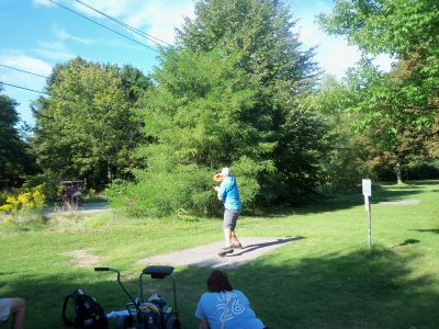 Toronto Island Park, Main course, Hole 5 Long tee pad