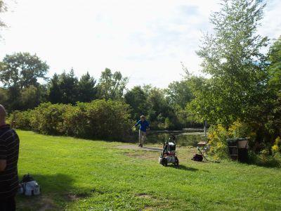 Toronto Island Park, Main course, Hole 4 Long tee pad