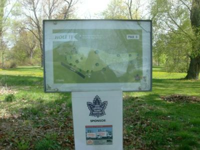 Toronto Island Park, Main course, Hole 11 Short tee pad