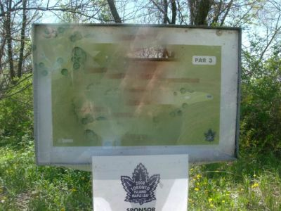 Toronto Island Park, Main course, Hole 18 Short tee pad