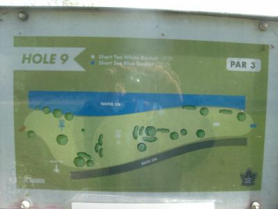 Toronto Island Park, Main course, Hole 9 Short tee pad