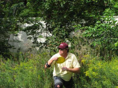 Toronto Island Park, Main course, Hole 11 Short approach