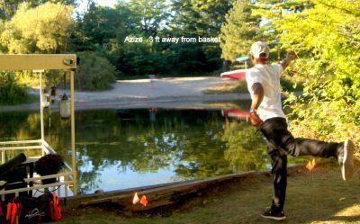 Toronto Island Park, Main course, Hole 4 Tee pad