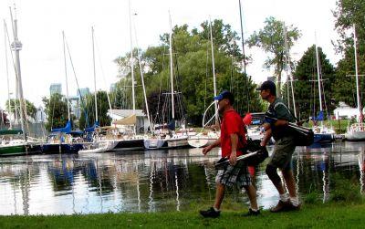 Toronto Island Park, Main course, Hole 9