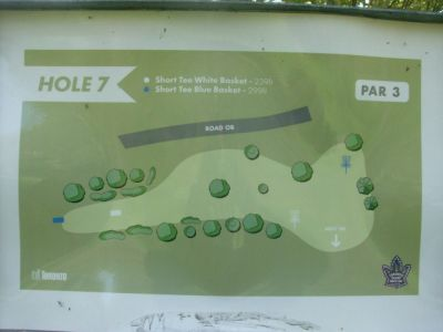 Toronto Island Park, Main course, Hole 7 Short tee pad
