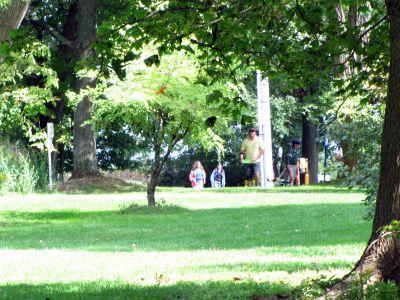 Toronto Island Park, Main course, Hole 11 Long tee pad