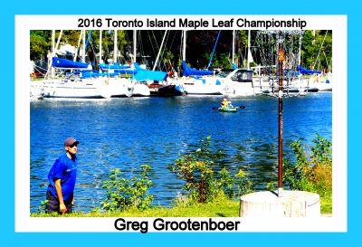 Toronto Island Park, Main course, Hole 9 Putt