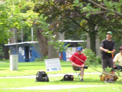 Toronto Island Park, Main course, Hole 12 Long tee pad