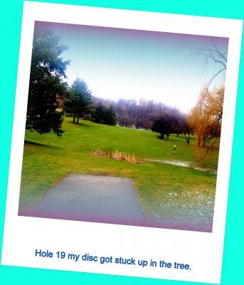 Centennial Park, Main course, Hole 19 Tee pad
