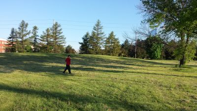 Centennial Park, Main course, Hole 7 Short approach