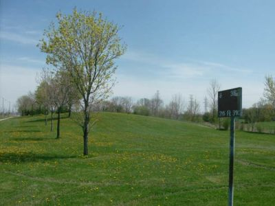 Centennial Park, Main course, Hole 8 Long tee pad
