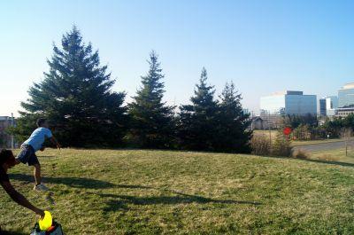 Centennial Park, Main course, Hole 7 Tee pad