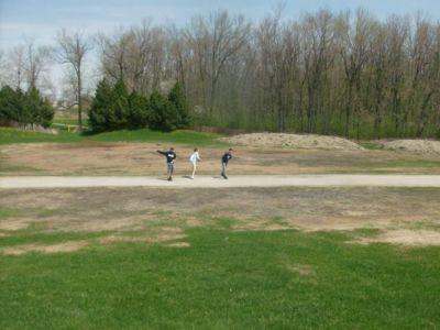 Centennial Park, Main course, Hole 16 Long approach