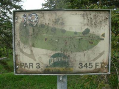 Centennial Park, Main course, Hole 19 Long tee pad