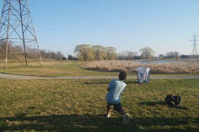 Centennial Park, Main course, Hole 12 Short tee pad