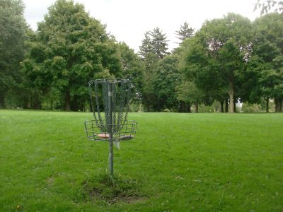 Pittock Conservation Park, Main course, Hole 8 Reverse (back up the fairway)