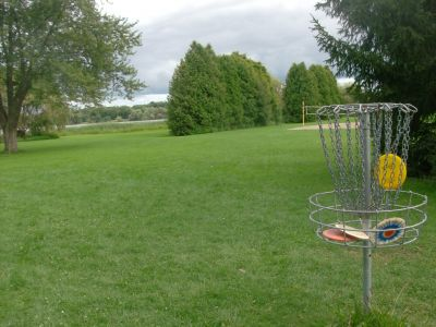 Pittock Conservation Park, Main course, Hole 2 Reverse (back up the fairway)