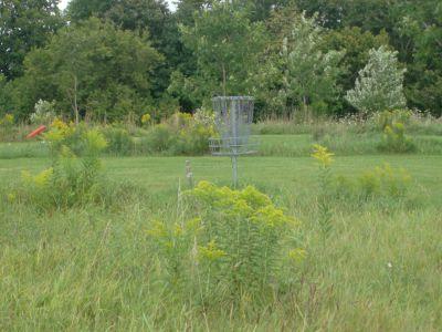 Pittock Conservation Park, Main course, Hole 12 Short approach