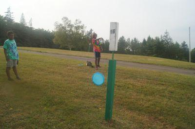 Strathgartney Provincial Park, Main course, Hole 16 Putt