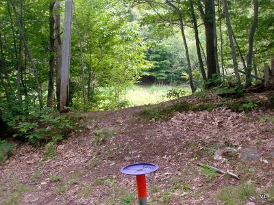 Camp Fortune, Main course, Hole 16 Reverse (back up the fairway)