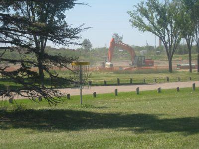 Diefenbaker Park, Main course, Hole 12 Short approach