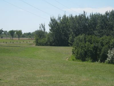 Diefenbaker Park, Main course, Hole 3 Tee pad