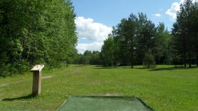 Rudan Frisbeesportcenter, Main course, Hole 13 Tee pad