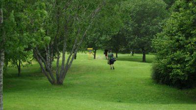 Järva Discgolf Park, Main course, Hole 14 Short approach