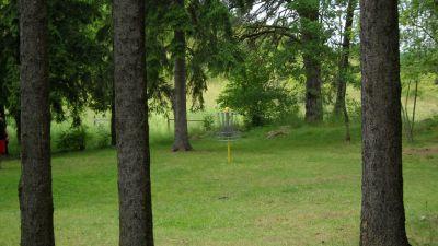 Järva Discgolf Park, Main course, Hole 23 Putt