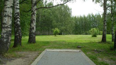 Järva Discgolf Park, Main course, Hole 3 Tee pad