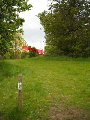 Lloyd Park, Main course, Hole 9 Tee pad
