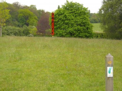 Lloyd Park, Main course, Hole 10 Tee pad